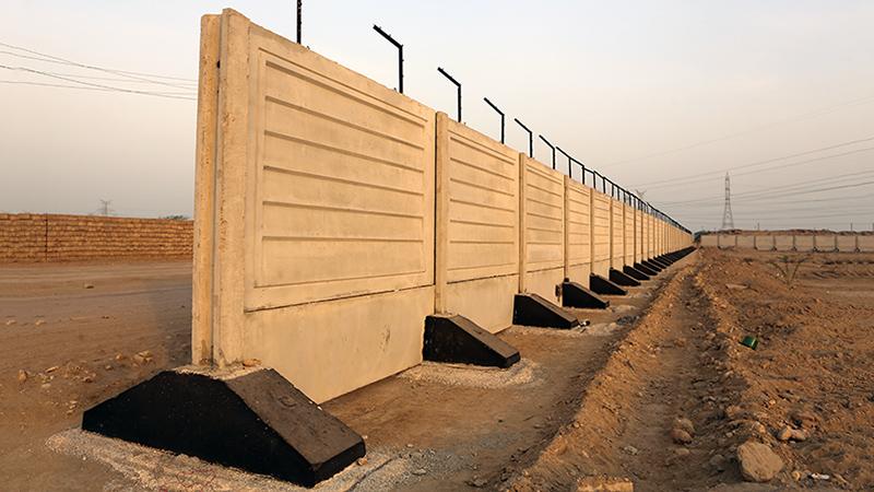 دیوار پیش ساخته بتنی | شرکت ساختمانی فراپایه عرصه